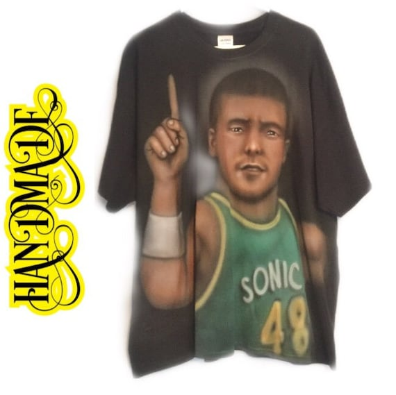 Froggy Fresh Rapper Hand Painted Airbrushed T-shir