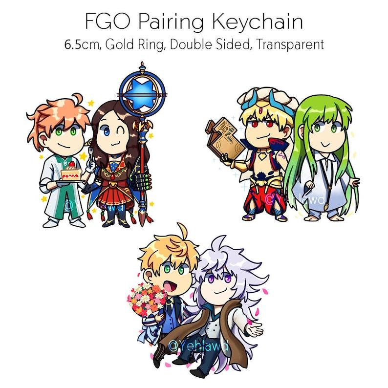 FGO Pairing Acrylic Keychain