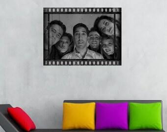 Ross Geller Cadeau Signé A4 Imprimé autographe Amis Cadeaux Imprimé Photo