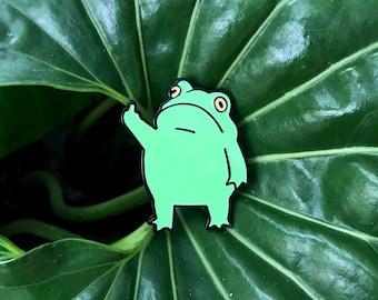 Minimum Mouse Tree Frog Enamel Lapel Pin Badge