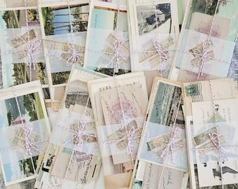 Cargo Mail, Vintage Mail, Vintage Ephemera, Vintage Scrapbooking Supplies, Vintage Stamps, Old Mail and Letters, Epistolary + Correspondence