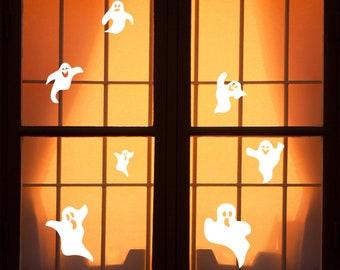 HALLOWEEN Window Cling  SCREAMING GHOST