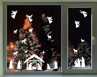 Nativity Decal Etsy
