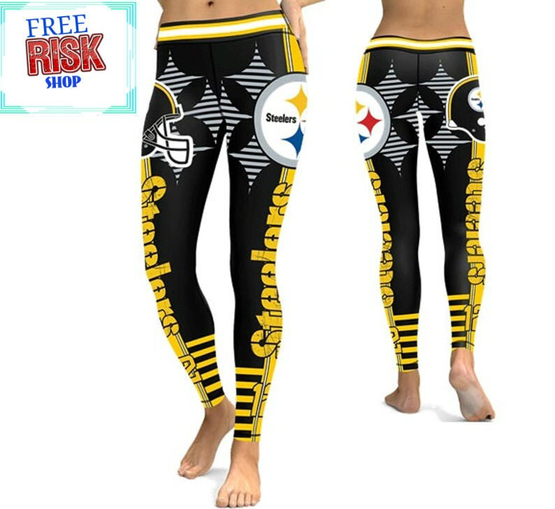 entire collection well known pick up New Leggings Pittsburgh Steelers Football Team NFL Sport Sexy | Etsy