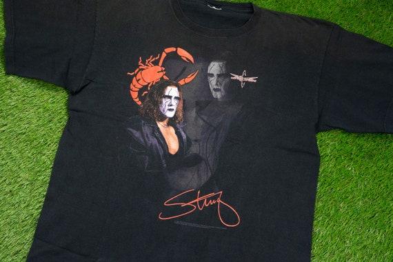 Vintage 1999 STING T-Shirt (XL-XXL) // 90s Wrestli