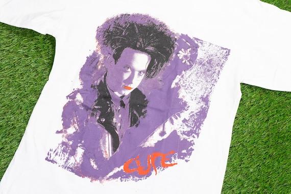 """Vintage 1992 THE CURE T-Shirt (M) // """"Wish Tour 92"""