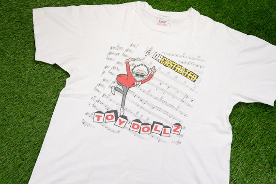Vintage 1995 TOY DOLLZ T-Shirt (L) // 90s Orcastra