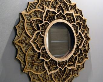 Mandala Mirror Etsy