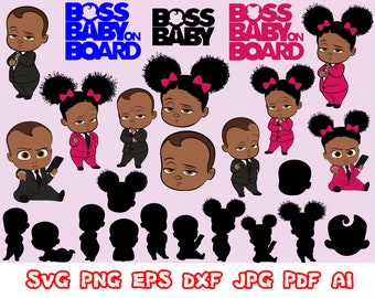Boss Baby Svg Etsy