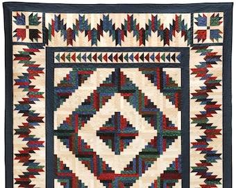 Bear Mountain Cabin Quilt Pattern PDF