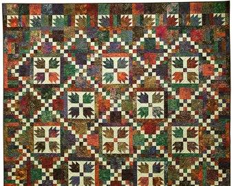 Bear Tracks Quilt Pattern - Printed Pattern