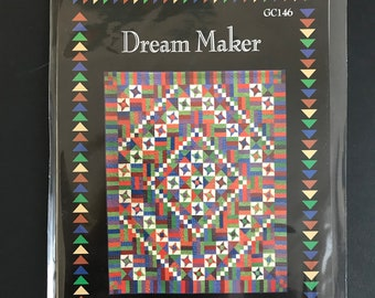 Dream Maker Quilt Pattern - Printed Pattern - Glad Creations - GC146
