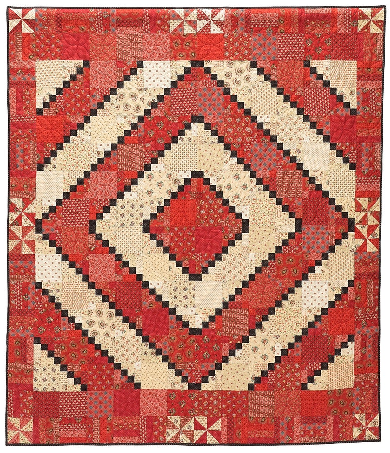 Any Which Way Quilt Pattern PDF image 1