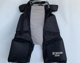 CCM Hockey Vintage Pants black cotton running winter 90s Size men Large