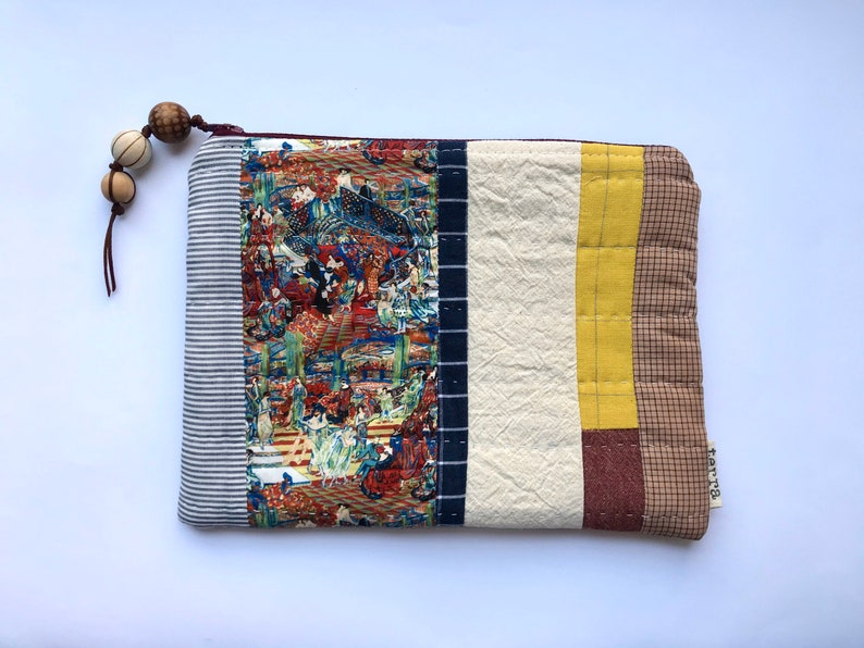 Zelda Hand-quilted Pouch