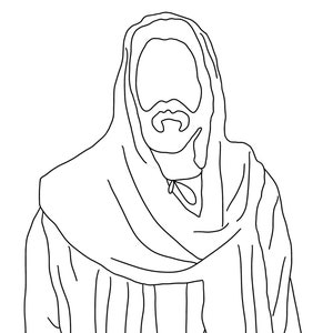 Jesus With Children Kids Lds Coloring Page For Adults And Kids Etsy