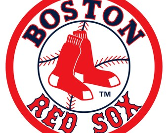 Boston Red Sox Vinyl Sticker Decal *SIZES* Cornhole Truck Wall Bumper Car