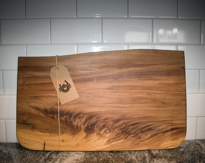 Featured listing image: red elm cutting board