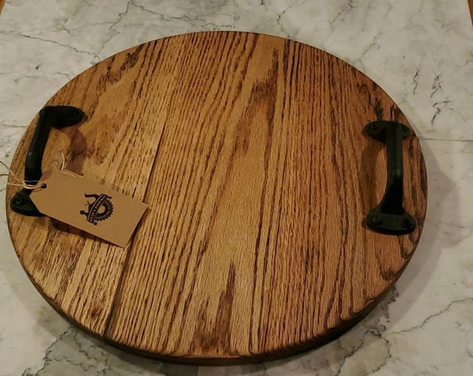 Featured listing image: Oak serving tray