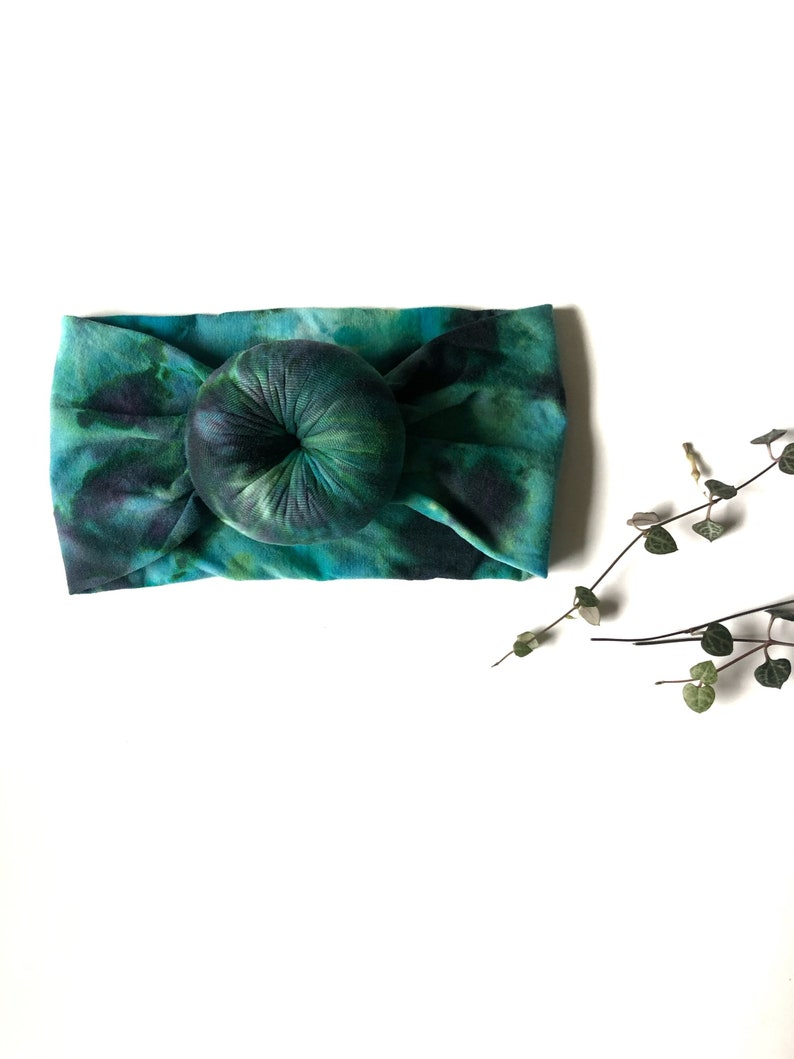 Beautiful Tie Dye Headband for your baby /& toddler