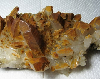 Madan,Bulgaria Top condition Great natural quartz from the famous 9th of September mine N27 Mineral Natural crystal