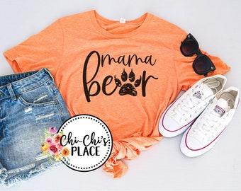 Mama Bear Sublimation T-Shirt