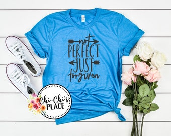 Not Perfect just Forgiven Sublimation T-Shirt