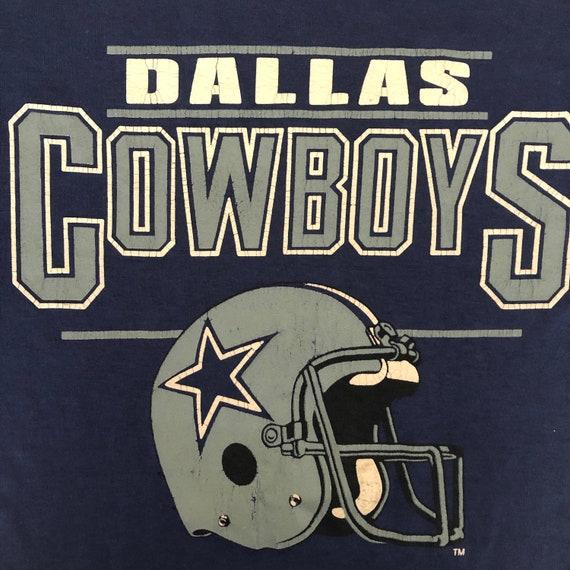 Vintage DALLAS COWBOYS Sports Football T Shirt, La