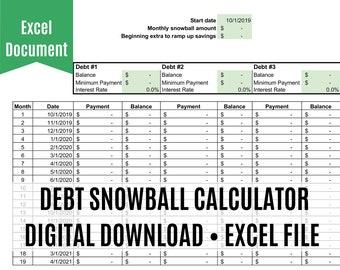 Excel | Etsy