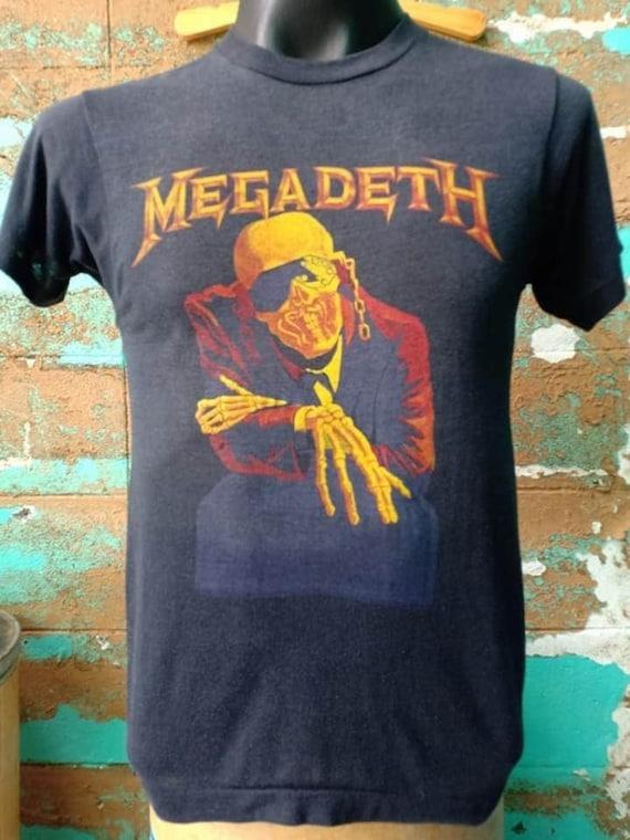 MegaDeth 80's Vintage tshirt