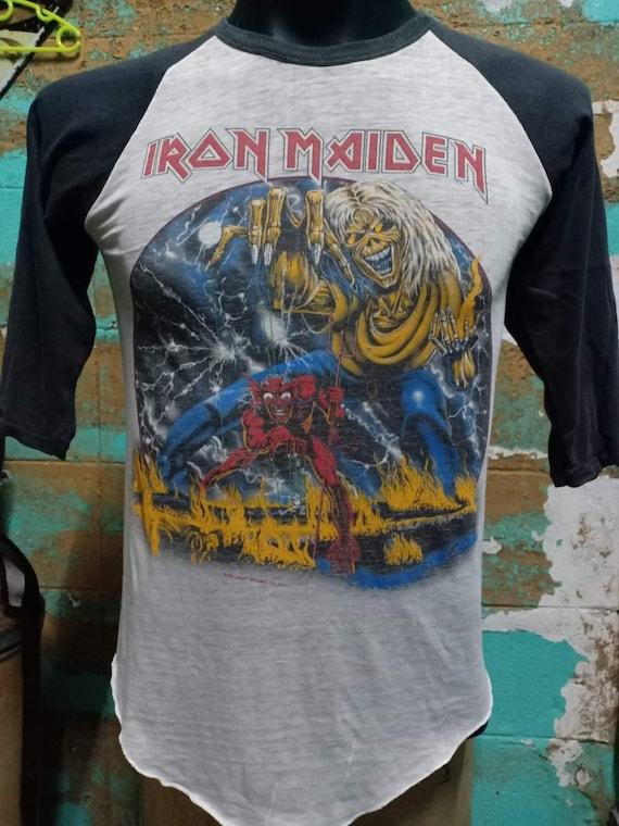 Vintage Iron Maiden 1982's T Shirt