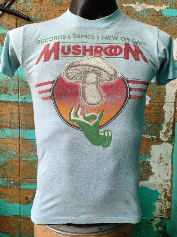 Mushroom 80's Vintage tshirt