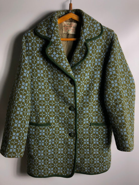 Real Welsh Tapestry Eclipse Tailored Cape Coat 100