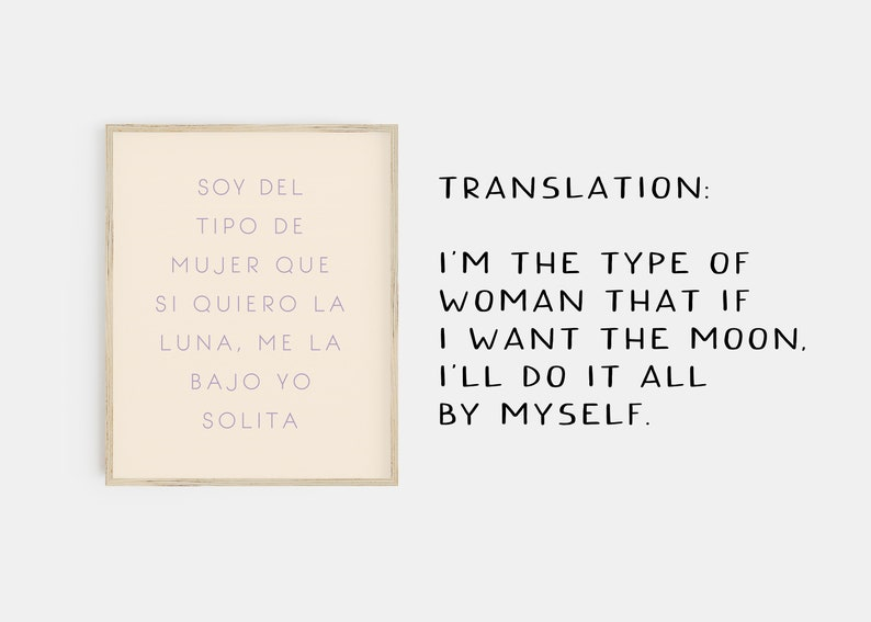 frida kahlo quote print spanish print matisse print set spanish quote print