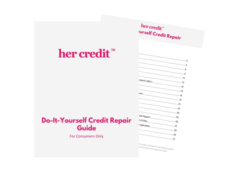 Her Credit™ Repair Guide  Complete Step-by-Step Guide to image 0