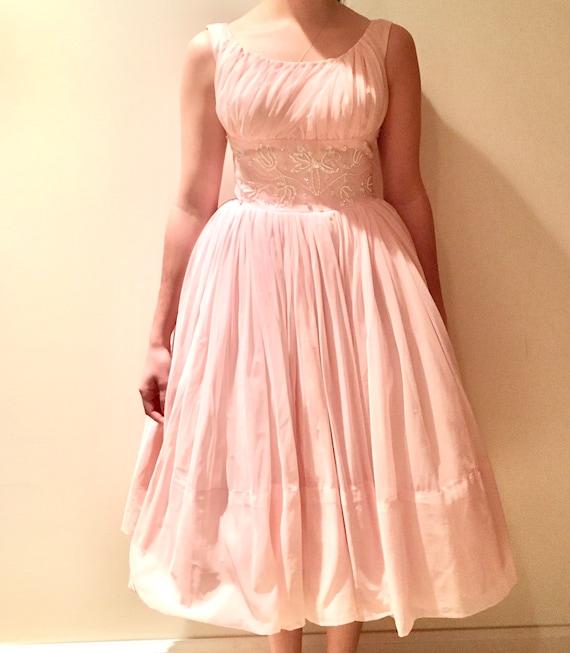 Vintage Prom Dress (1950s)