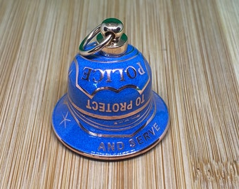 Police To Protect and Serve Guardian  Gremlin  Motorcycle Coin Bell