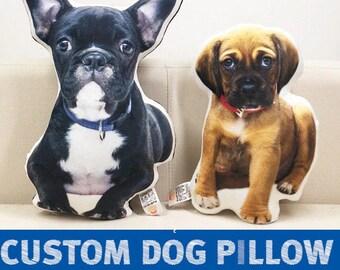 Custom pet photo pillow | Etsy