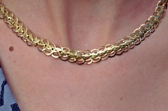 Bronze necklace - Handmade Bronze Necklace - Antiq