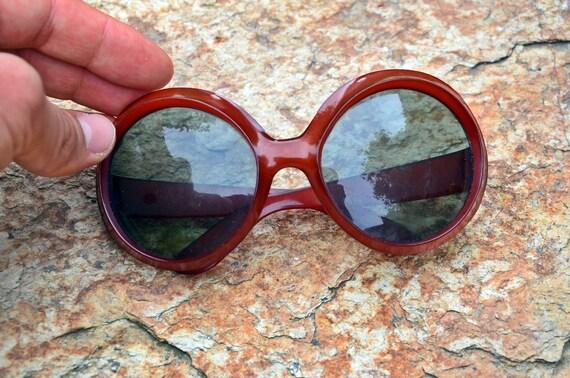 Sunglasses, Red sunglasses, Retro sunglasses, Vin… - image 6