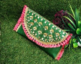 Etnico indiano in pizzo colorato Taglia Nastro Cucito Artigianato Matrimonio Sari bordo