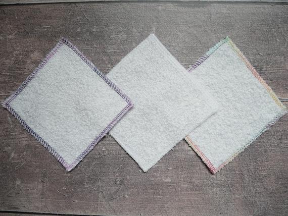Zero waste square bamboo make up remover pad