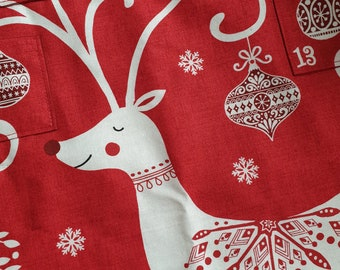 Pre-order: Scandi red reindeer christmas advent calendar