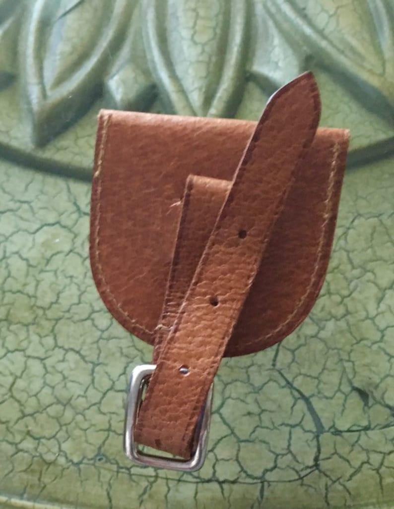 Vintage Genuine Leather Change Purse
