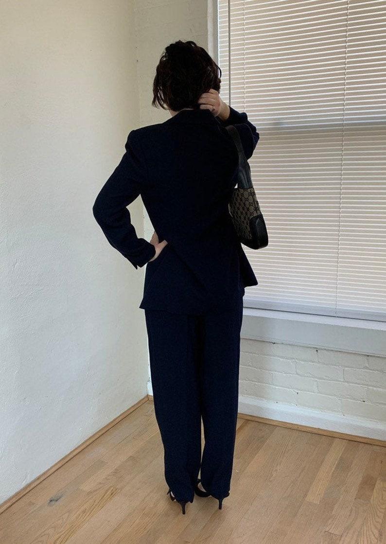 Vintage Navy Suit