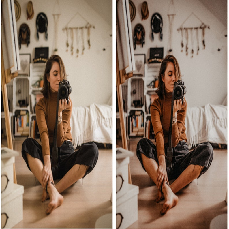 Lifestyle Blogger Bohemian Influencer Moody Travel Edit Boho Chic MOBILE Lightroom Preset- Instagram