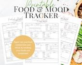 Printable Food & Mood Tracker   Food Sensitivity Journal