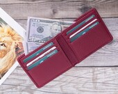 MINIMALIST LEATHER WALLET, Personalized Slim Front Pocket Wallet, Men 39 s Cardholder, Distressed Leather Cardholder, Perfect Gift