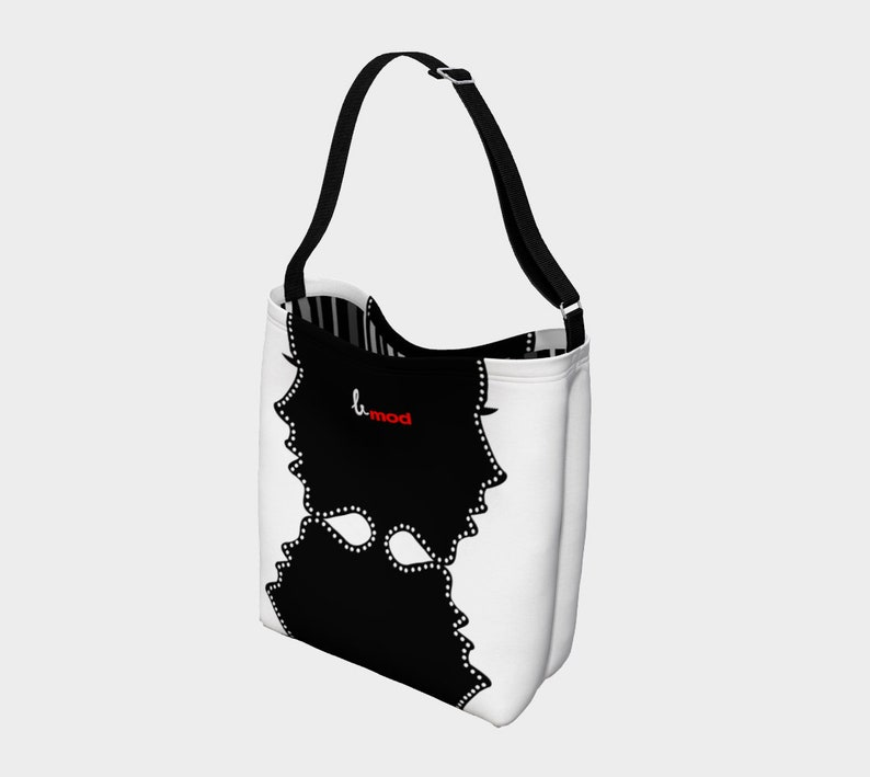 Georgy Girl Day Tote- Adjustable Mod by Blissfully Brand Retro Modern