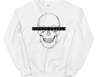 Spooky Season Sweatshirt   Halloween Sweatshirt   Halloween Sweatshirt   B Unisex Sweatshirt   The Creeperie